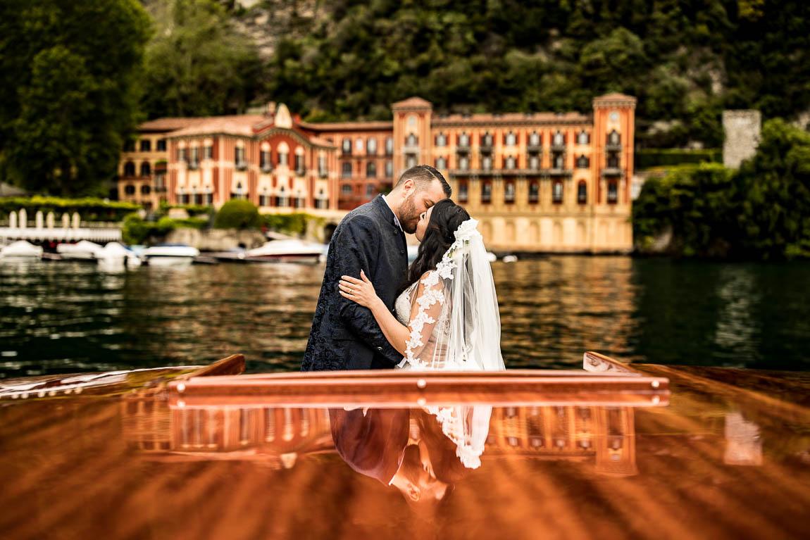 Villa d'Este fotografie di matrimonio