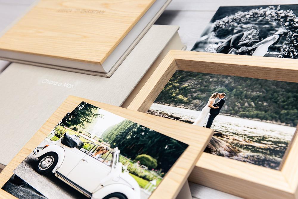 Cofanetto di legno per matrimonio
