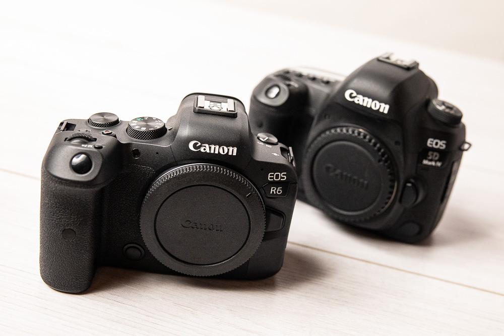 Recensione Canon Eos R6