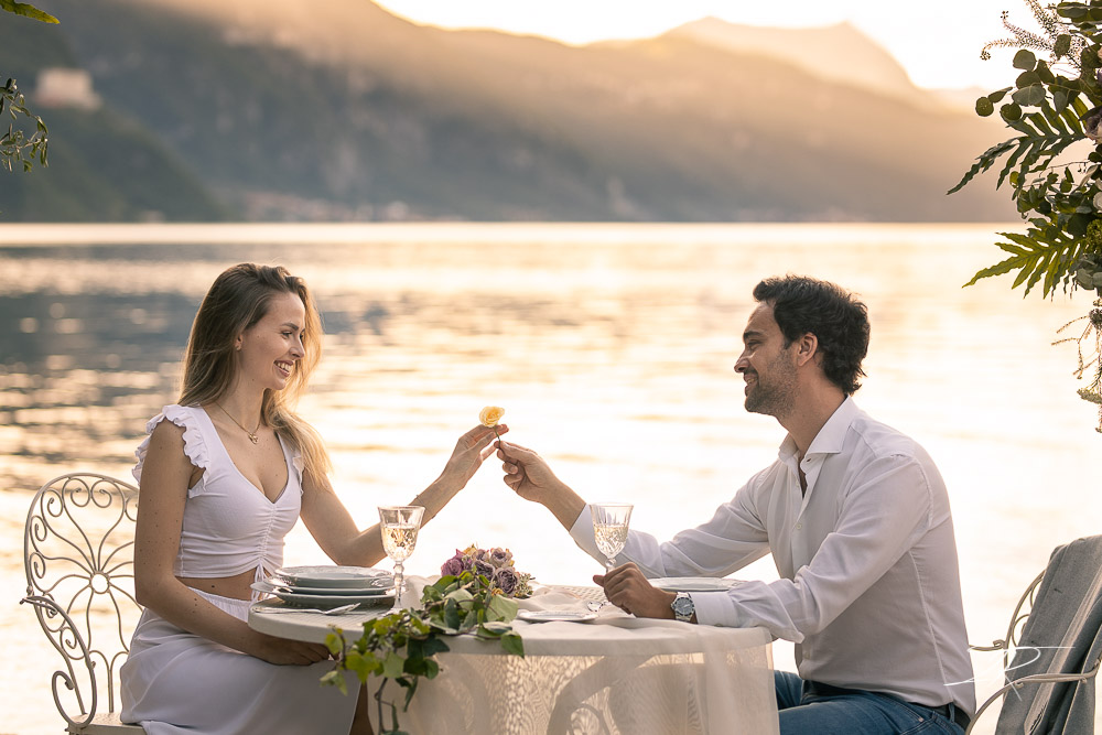 Engagement Lake Como